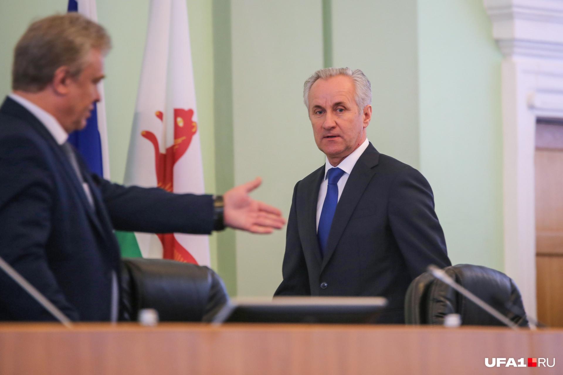 Сергей Греков докладывал о достижениях и проблемах Уфы почти 40 минут