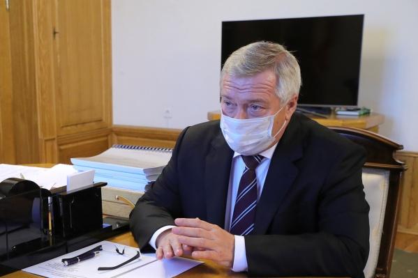 Голубев анонсировал инфекционную больницу больше года назад