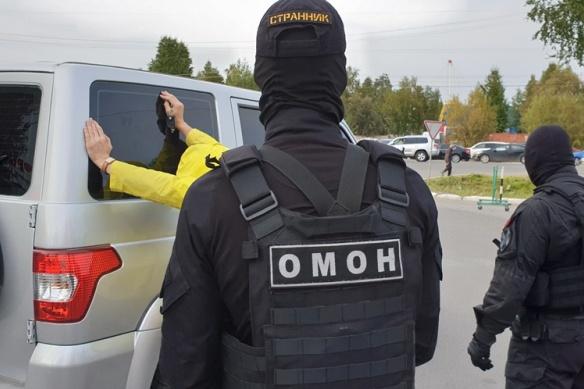 В операции по задержанию взяточника участвовал ОМОН