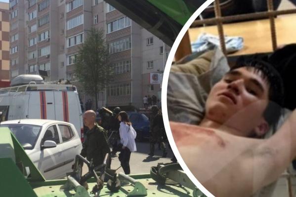 19-летнийИльназ Галявиев вернулся в школу, где учился, с огнестрельным оружием