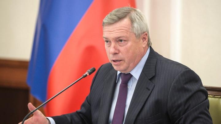 Губернатор Ростовской области Голубев привился от коронавируса