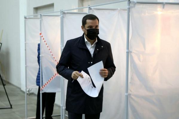 Глава региона проголосовал в первый день выборов. Они продлятся до 19 сентября