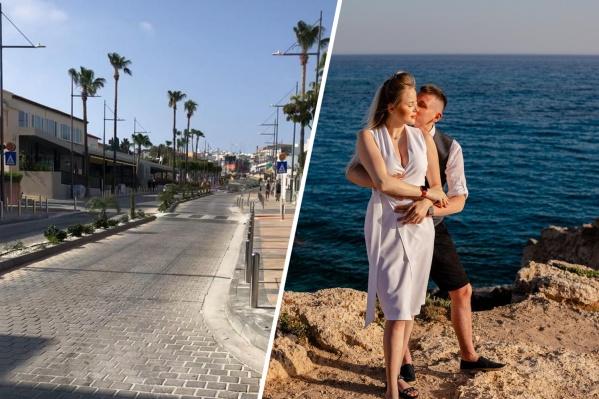 Владлен и Софья Полянские поехали в свадебное путешествие на Кипр во время локдауна