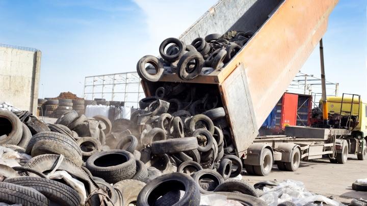 Ярославцы смогут бесплатно сдать в переработку старые шины