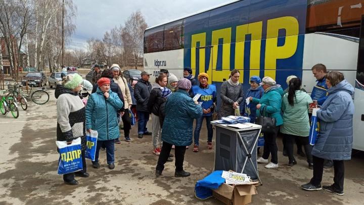Больше тысячи обращений: автобус помощи ЛДПР побывал в 46 городах и селах Прикамья