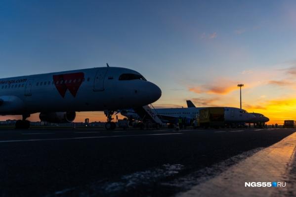 Омскому аэропорту удастся сэкономить на ремонте миллион рублей