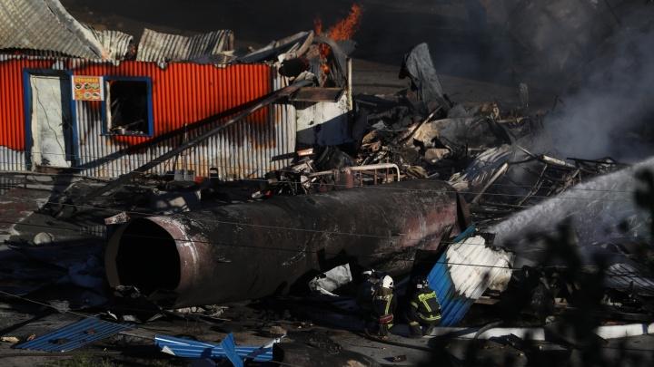 Количество пострадавших при пожаре на ГБШ достигло 26, среди них двое детей