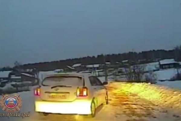 Водитель изначально притворился пассажиром, чтобы избежать наказания