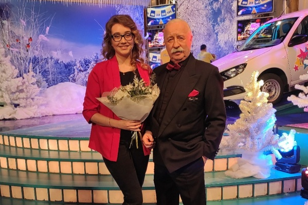 Ярославская участница вместе с легендарным Леонидом Якубовичем