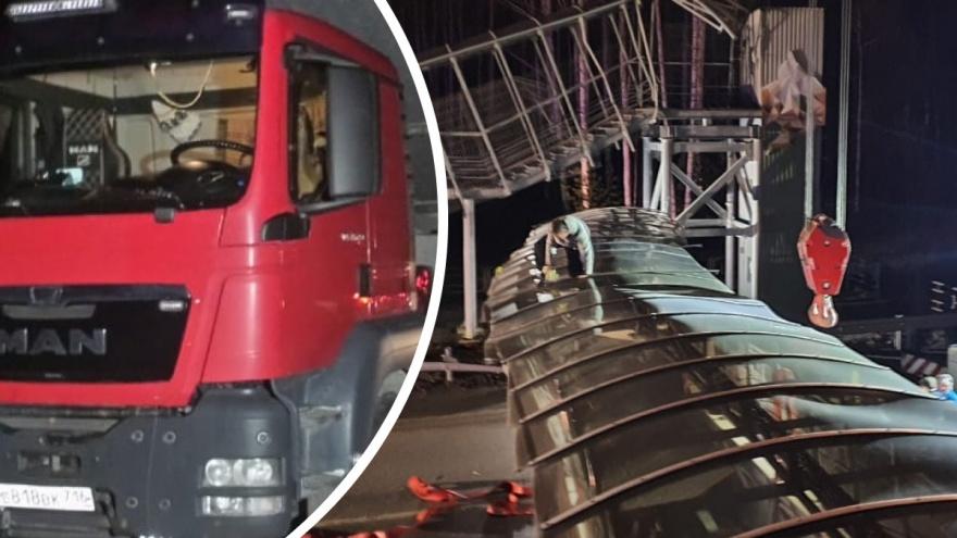 Дальнобойщик из Татарстана, обрушивший мост под Екатеринбургом, отказался платить за его восстановление
