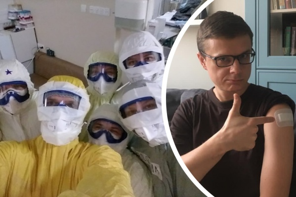 Жданов начал работать в «красной» зоне в самый разгар первой волны коронавируса