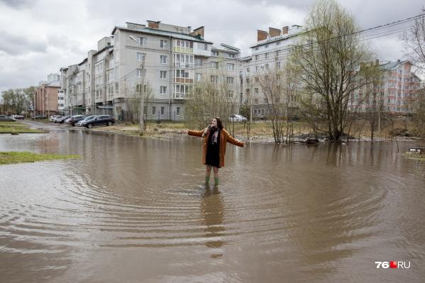 В Ярославле затопило улицу