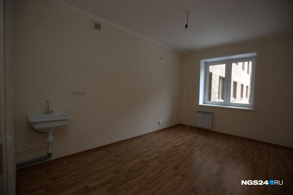 К 2010 году Красноярск был одним из немногих регионов в стране, где была чистовая отделка