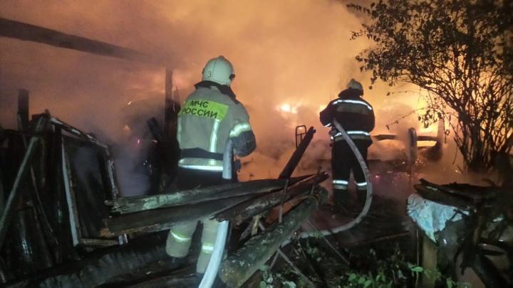 Шестилетний мальчик погиб в огне в саду под Екатеринбургом: три версии случившегося