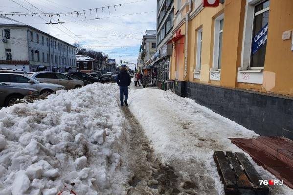 Дороги Ярославля превратились в ледяной ад
