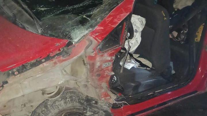 Появилось видео с места смертельной аварии в Башкирии, где погиб 11-летний ребенок