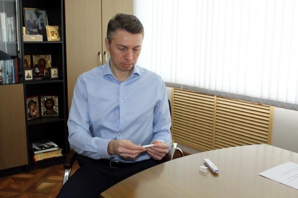 Член «Единой России» Андрей Бральнин руководил Котласом с 2013 года