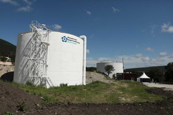 Новый участок водопровода в Геленджике