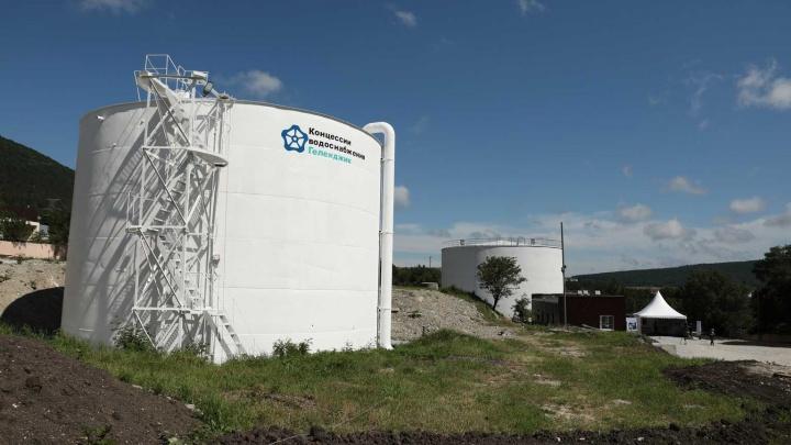 В Геленджике закончили строить новый участок водопровода
