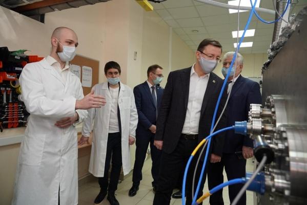 В Самарском университете работают несколько лабораторий, которые уже сотрудничают с предприятиями