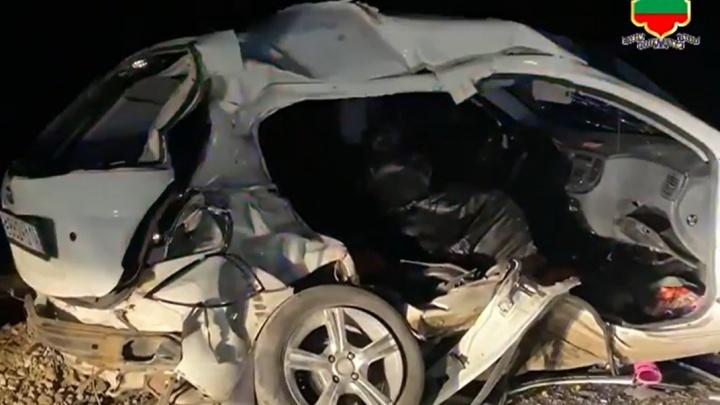 Семья из Лабинска разбилась в страшном ДТП в Карачаево-Черкесии