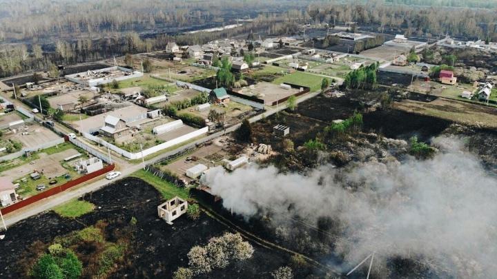 Люди выбегали из домов в трусах: что осталось на месте тюменского СНТ, в котором сгорело 25 домов