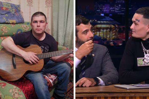 Андрей Михалев иногда выходит в чат-рулетку — там он любит играть на гитаре