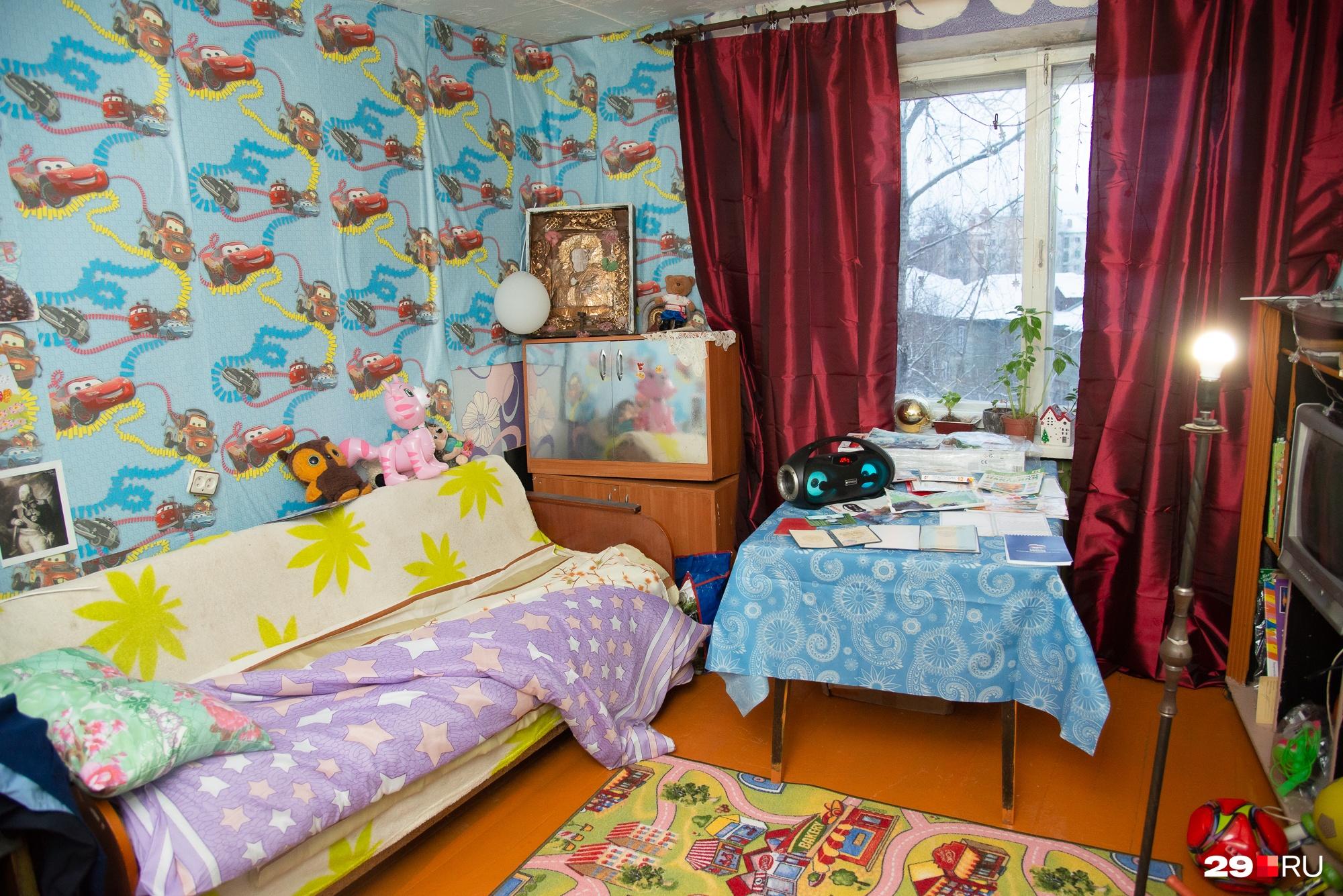 Комната из бабушкиной превратилась в детскую