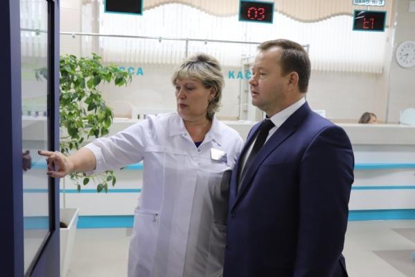 В должность директора онкодиспансера Светлана Шаламова вступила в апреле 2020 года
