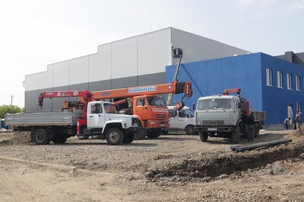 Общая площадь нового спорткомплекса — 3024 квадратных метра