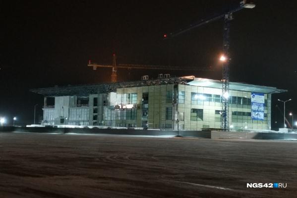 Новый терминал строят с мая 2020-го