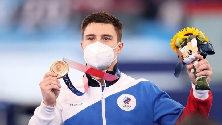 Ростовский гимнаст Никита Нагорный завоевал бронзовую медаль на Олимпиаде