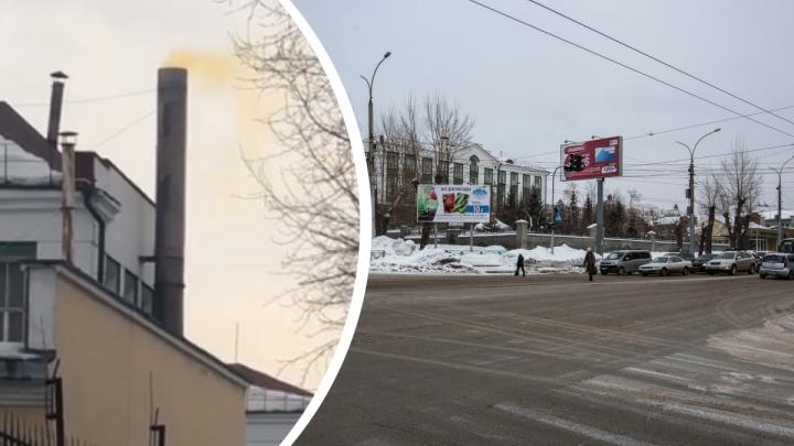 Из трубы Новосибирского аффинажного завода повалил желтый дым— опасно ли это?