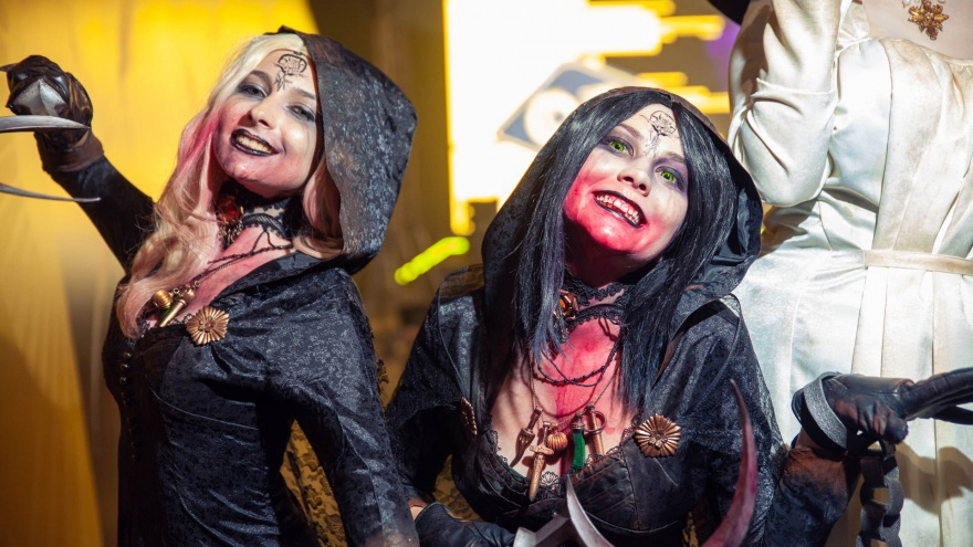 Трисс из Ведьмака, джедаи и сексуальные вампирши: смотрим лучший косплей киберспортивной Тюмени
