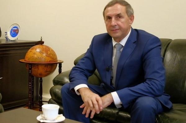 Иван Андрончев официально стал ректором железнодорожного вуза в 2018 году