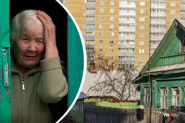 Жильцам частных домов не нравится соседство с многоэтажками