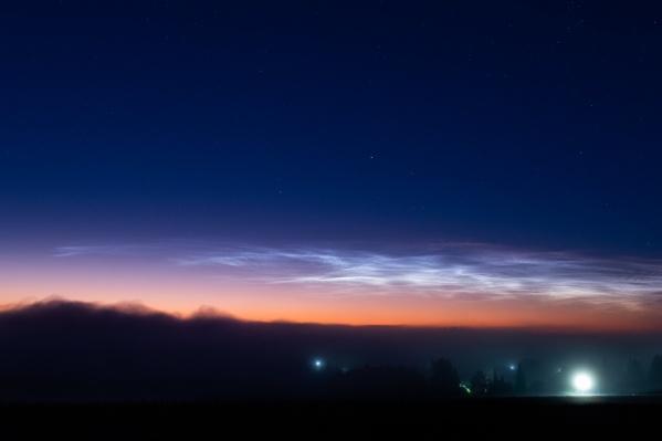 Астрофотограф Алексей Поляков сделал снимки ночь с 8 на 9 июля