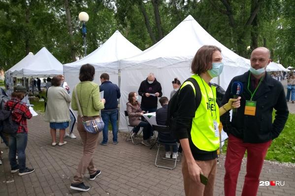 В Петровском парке пункт вакцинации будет работать 25, 26 июня и 3 июля