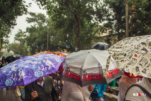 Жителям региона придется доставать зонты
