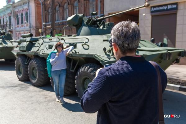 Все желающие смогут ознакомиться с военной техникой поближе