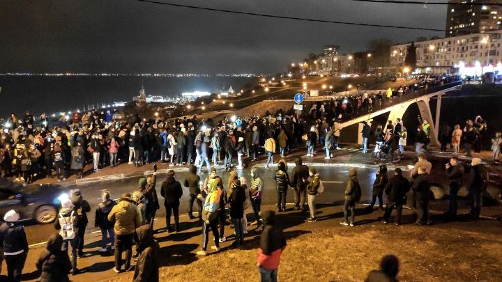 Оппозиция и чиновники посчитали участников митинга: цифры отличаются в несколько раз