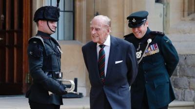 Умер принц Филипп, муж британской королевы Елизаветы II