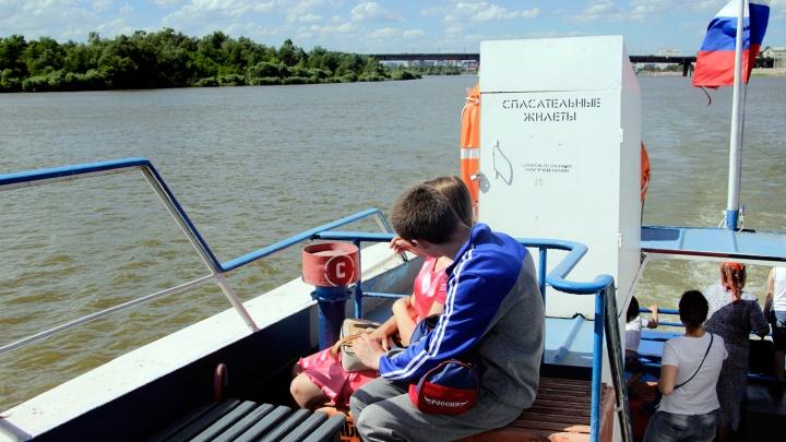 В Омске с мая запустят теплоходы для дачников