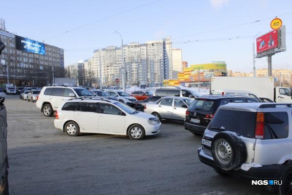 Развязка на площади Лыщинского