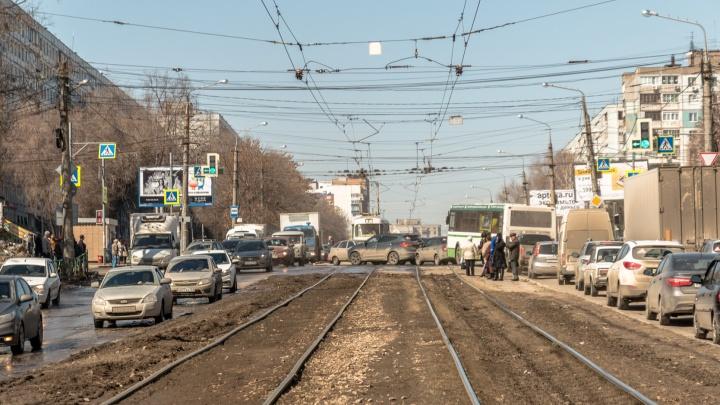В Самаре приведут в порядок пересечения Московского шоссе срельсами
