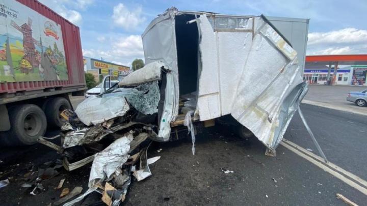 Полицейские назвали причину массового ДТП на Ракитовском шоссе