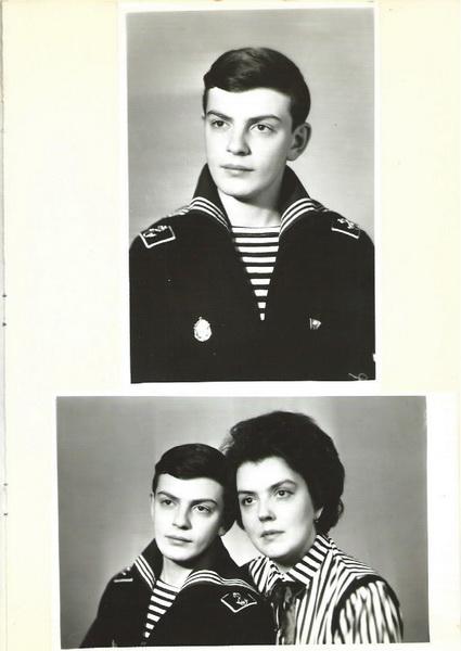 Лев Крошкин, 1 курс Высшего военно-морского училища радиоэлектроники имени А.С.Попова, 1985 год