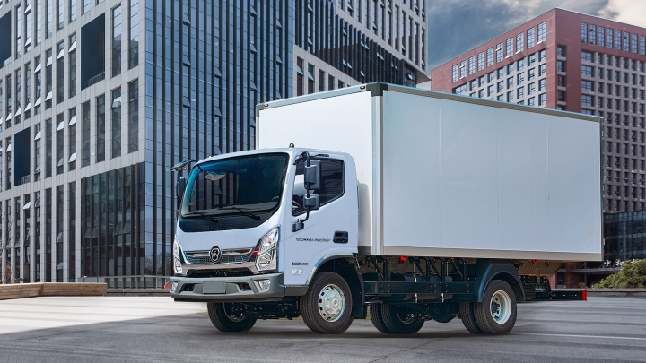 ГАЗ презентовал маневренный грузовик, идеальный для мегаполиса