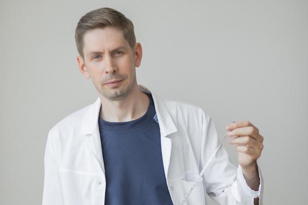 Денис Николаевич Ровенских — кандидат медицинских наук пластический хирург, онколог клиники «Евромед»