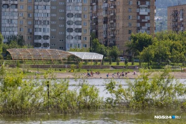 На выходных в Красноярске будет жаркая погода